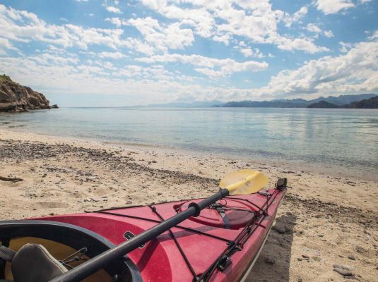 kayak loreto to la paz with paddling south