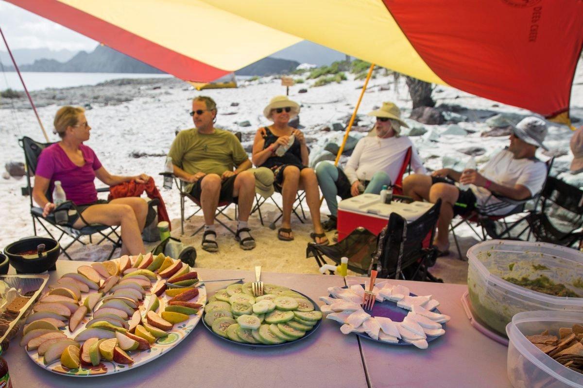 Mulege to Loreto kayak trip