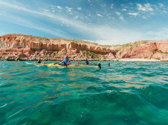 kayak the sea of cortez in baja