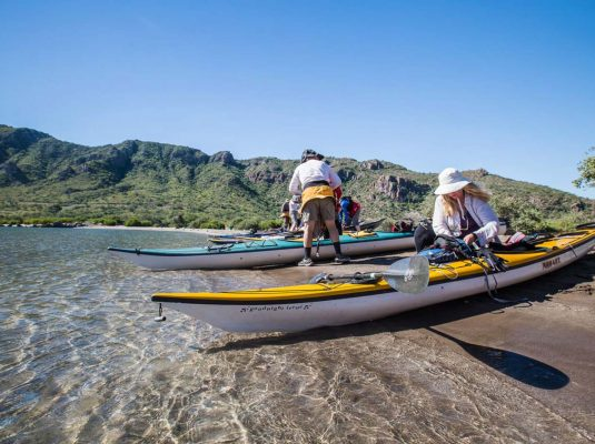 kayak mulege to loreto mexico
